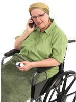 wheelchairwoman