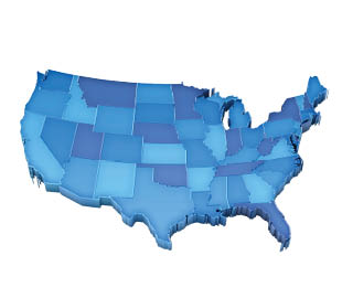 Personal Injury Collections by State: 2011 vs. 2013